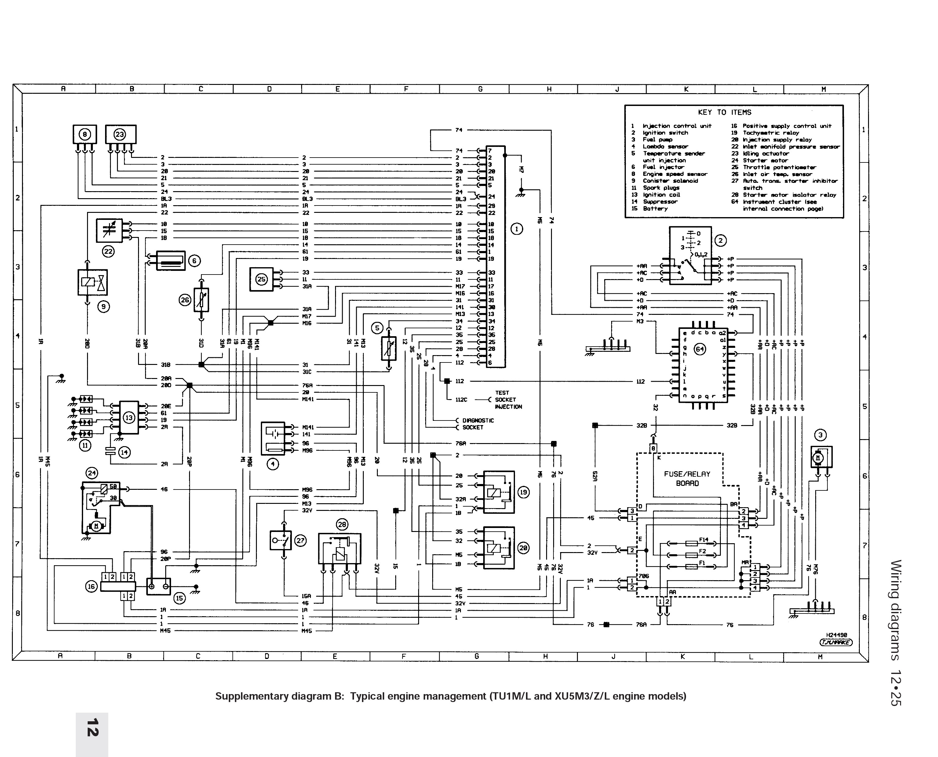 205 Mi16 Wiring Diagram