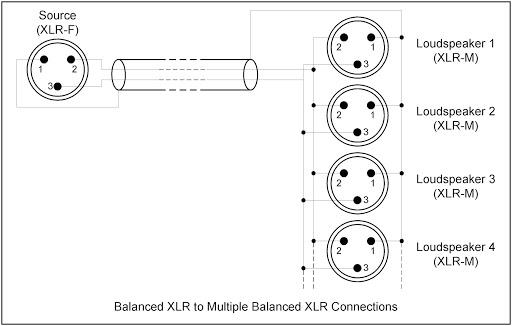 yc1156 schematic balanced xlr to xlr connections free diagram