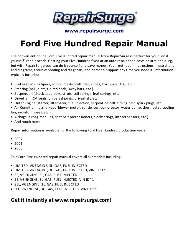 wt8555 ford 500 wire diagram free diagram