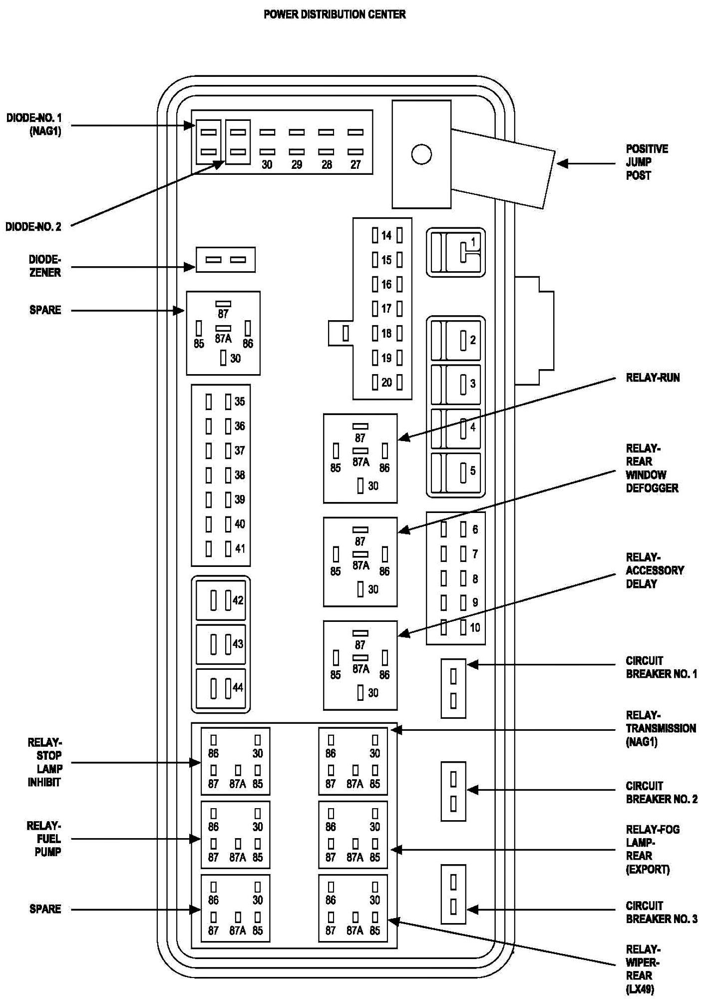 Pt Cruiser Wiring Diagram Schematic F4ce507