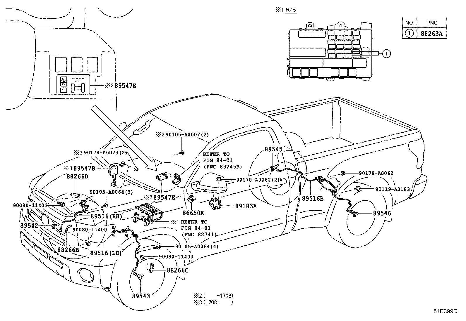 Df Toyota Tundra Front Bumper Parts Diagram