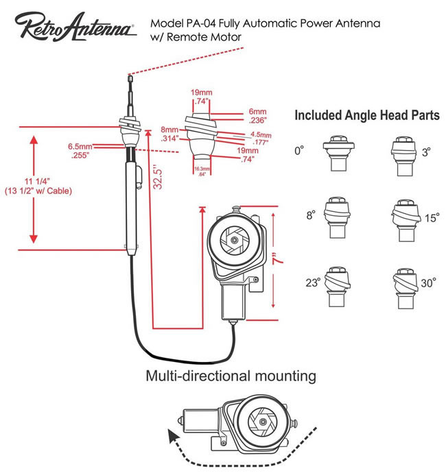 az9327 ford power antenna wiring diagram free diagram