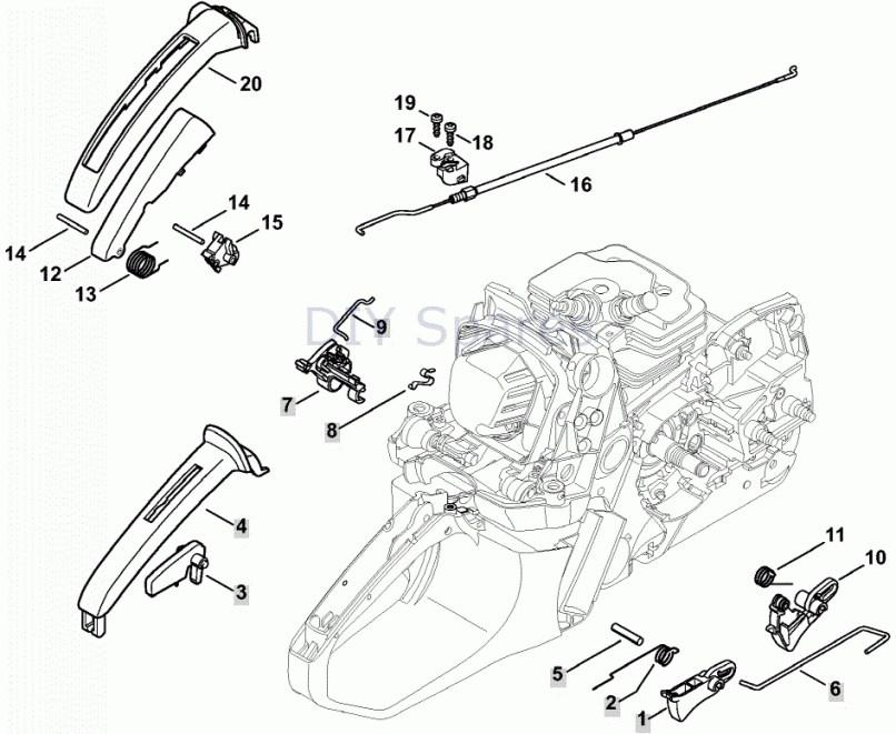 Parts Diagram Stihl Chainsaw