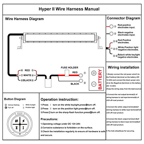 wiring diagram for led light bar  dimmer switch wiring