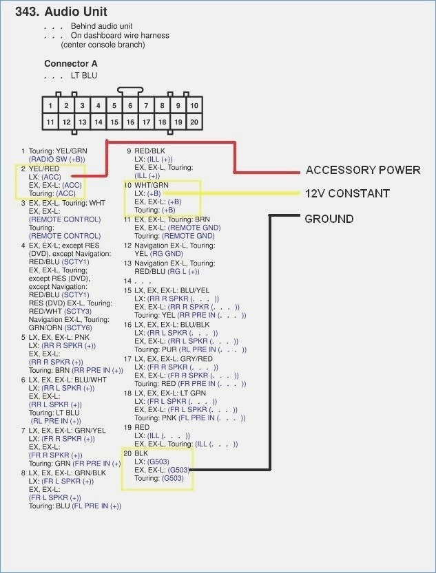 pioneer radio avic d3 wiring diagram  pietrodavicoit power