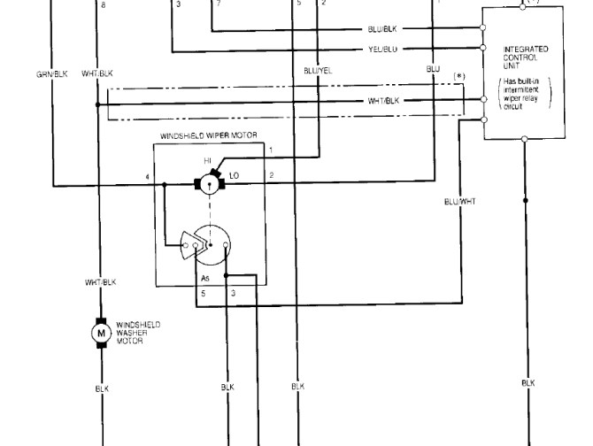 yf1657 1999 honda accord wiper wiring diagram free diagram