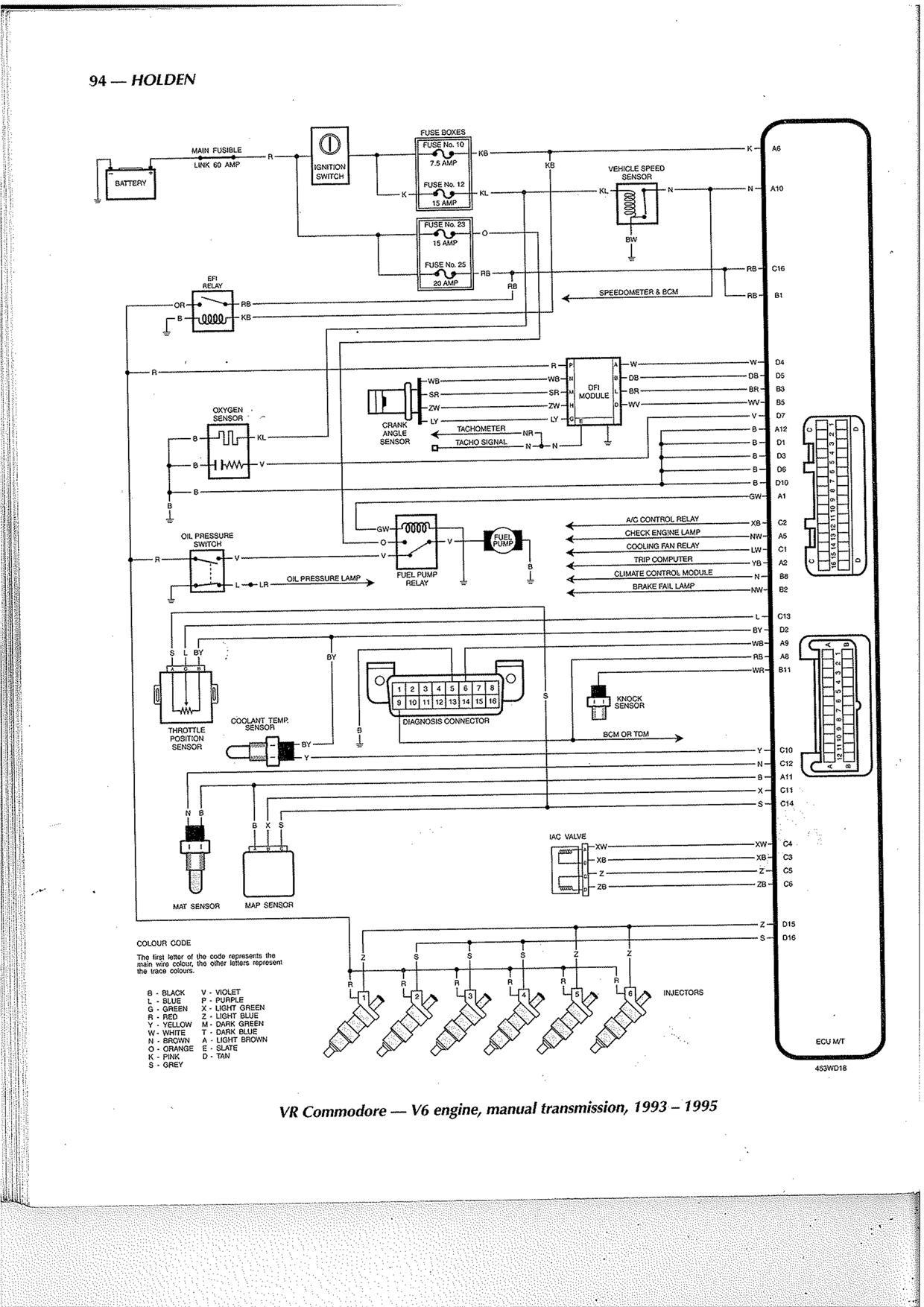 Vx Monaro Stereo Wiring Diagram