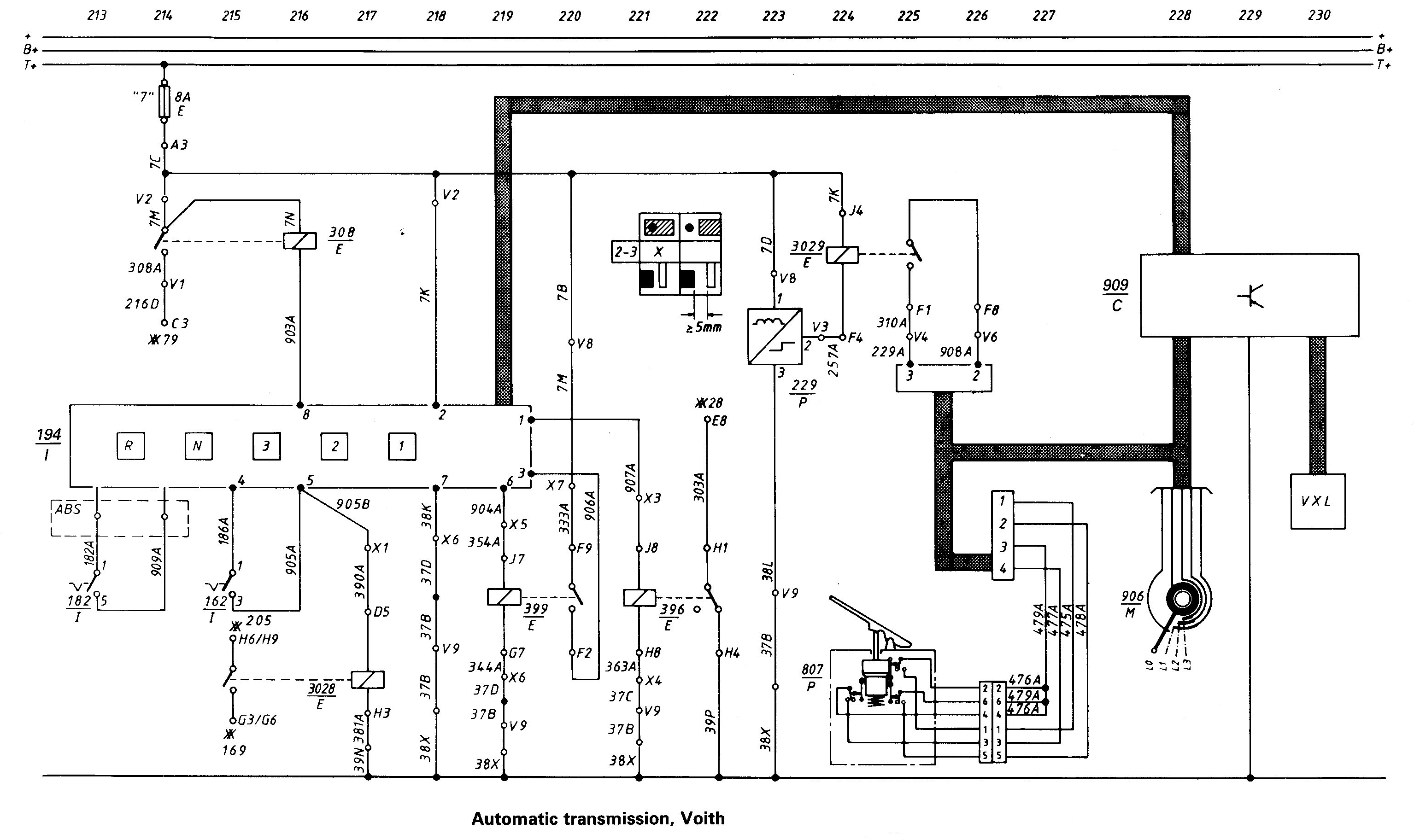 Voith Wiring Diagram