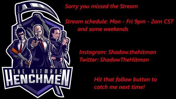 Twitch stream of ShadowTheHitman