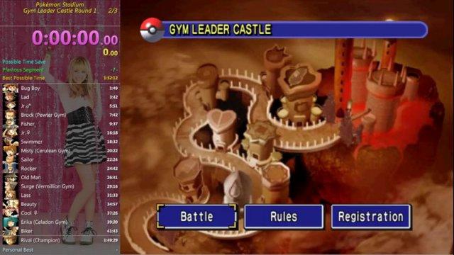 Booisalluring Pokémon Stadium Gym Leader Castle In 1 45 21 Emulator Twitch