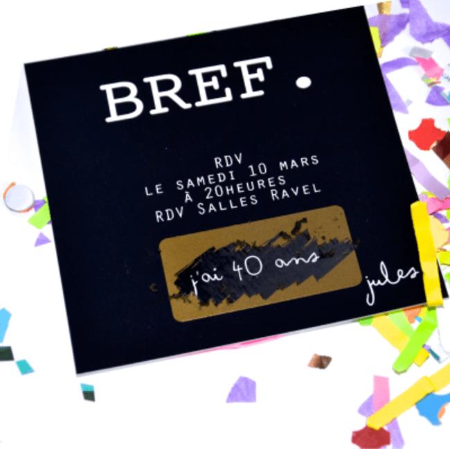 invitations d anniversaire originales