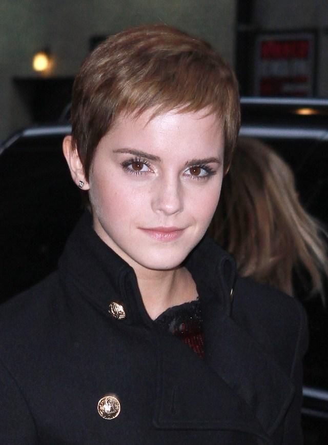 emma watson's super-short hairstyle | stylecaster