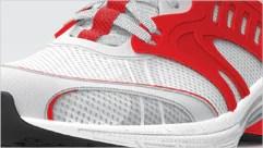 Rendered 3D shoe design
