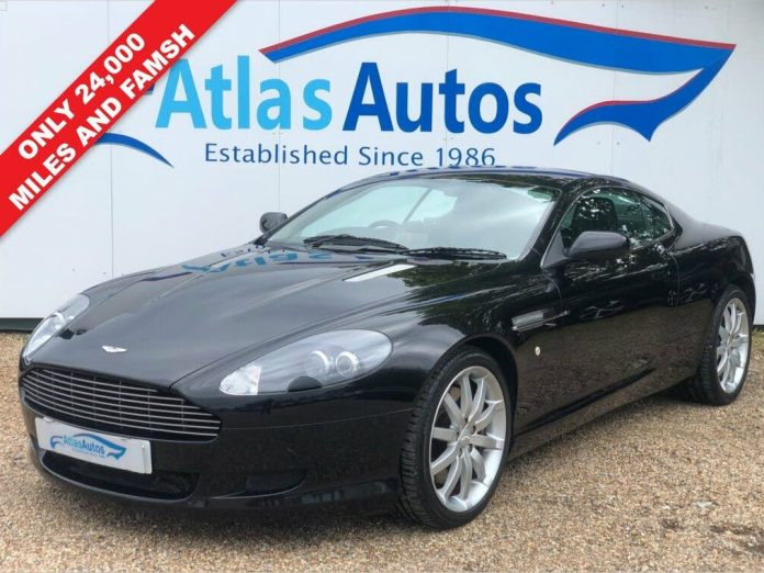 Second Hand Aston Martin Db9 For Sale In London Cargurus Co Uk
