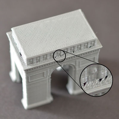 Print head for 3d printer  Plastic is extruded insufficiently
