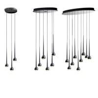 replica Tobias Grau Falling Waters  3 lamps+silver