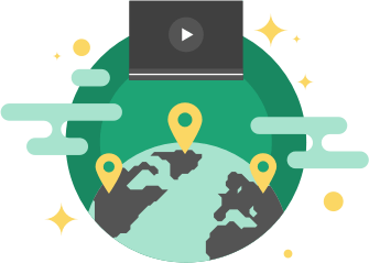 Restore your online freedom. Choose a server location in a different country and browse the internet safely and securely.