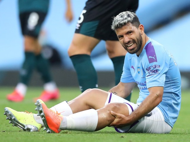 Sergio Aguero injury: Manchester City hit by fresh blow as striker could miss next two months