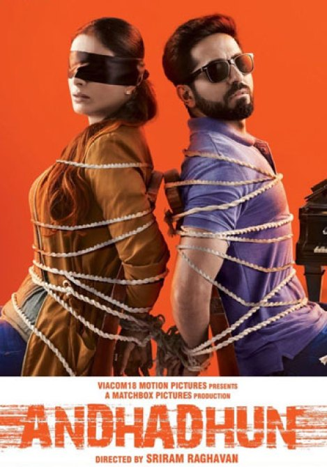 Andhadhun the best suspense-thriller Bollywood movies to stream