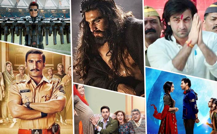 With Padmaavat, Sanju To Simmba, Bollywood Rakes A Record Business In 2018; Beats 2017's Total Of 2688 Crs By Huge Margin!