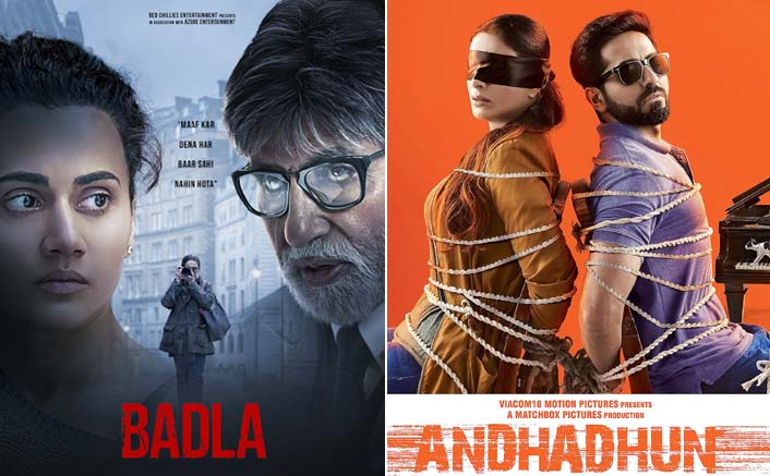 Badla collects 75.79 crores, crosses AndhaDhun's record, emerging as the content film of the year