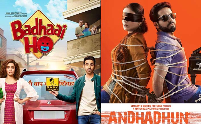 Badhaai Ho, Andhahun Lead - Entire List Of Nominations Of Critics Choice Film Awards