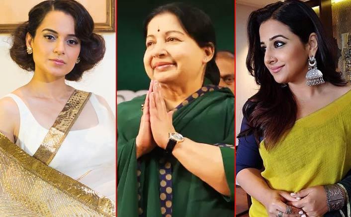 Vidya Balan loses to Kangana Ranaut for the role on Jayalalitha