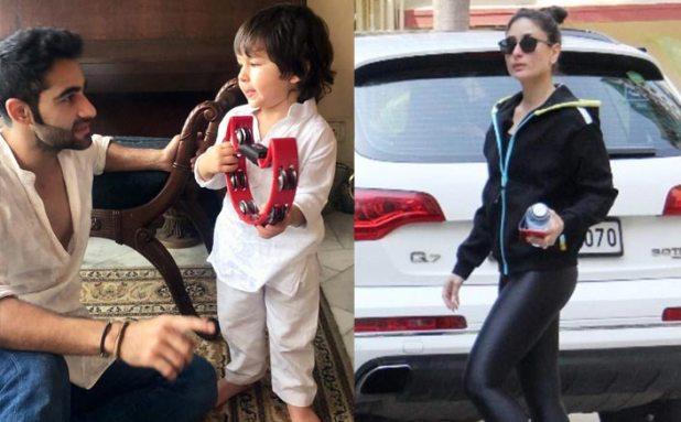 Like Mommy Kareena Kapoor Khan, Son Taimur Ali Khan Is Also A Gym Freak