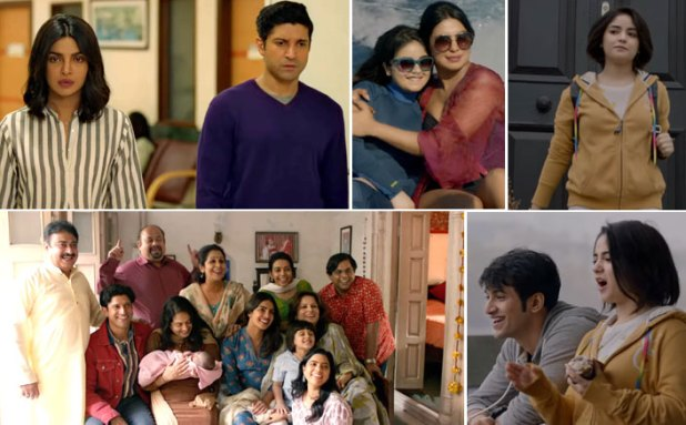 The Sky Is Pink Trailer: Priyanka Chopra-Farhan Akhtar-Zaira Wasim Starting From Emotions To Entertainment - Nail It All!