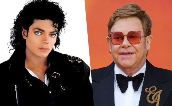 Legenadary Singer Elton John Calls Michael Jackson
