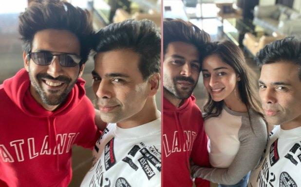 Is Karan Johar HINTING That Theres Actually Something Cooking Between Kartik Aaryan & Ananya Panday?