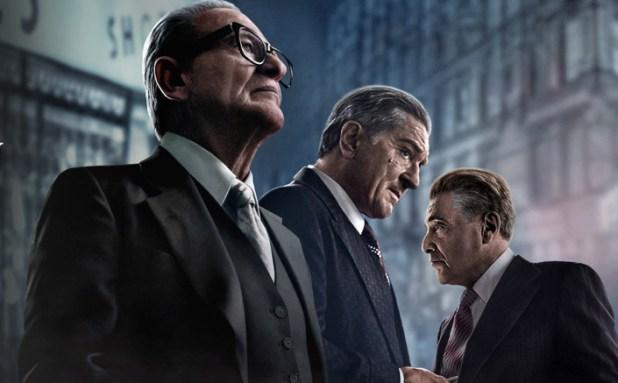Martin Scorsese's THE IRISHMAN starring Robert De Niro, Al Pacino & Joe Pesci