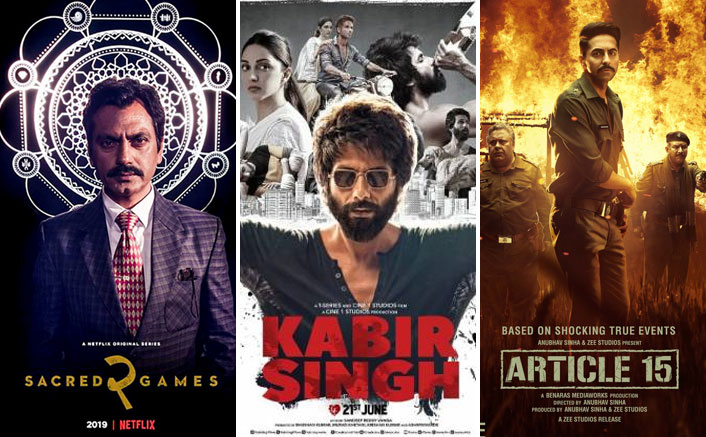 #Flashback2019: From Sacred Games 2 To Kabir Singh, Netflix Shares What Topped On Their List This Year