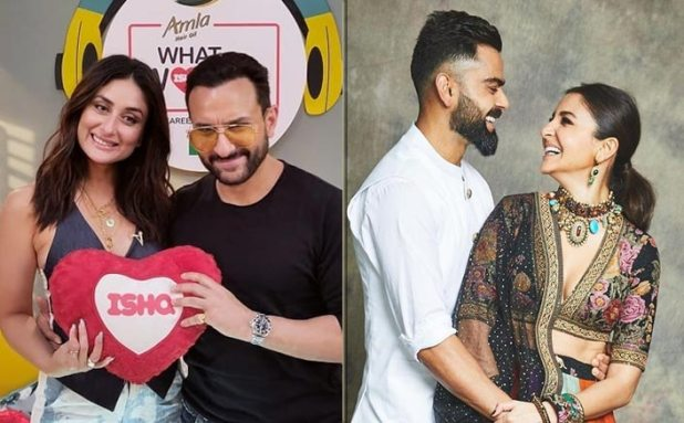 Saifeena reveal that Virushka is the other celebrity couple that is acing marriage on 104.8 Ishqs What Women Want 2