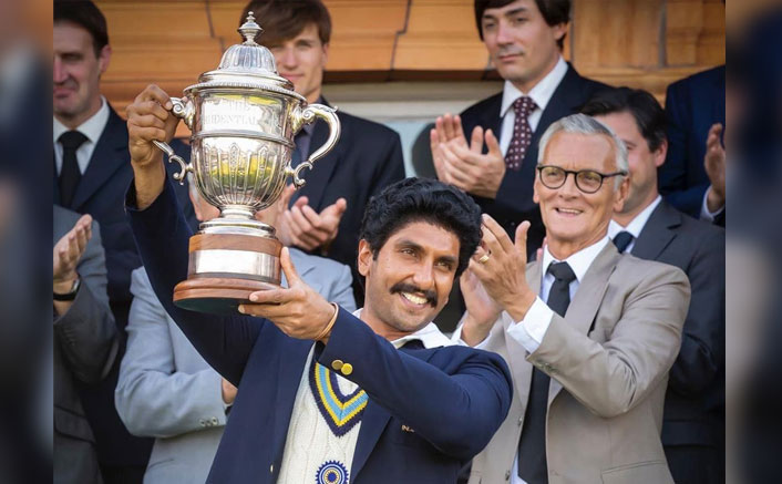 *Ranveer Singh recreates the iconic 83 world cup lifting moment; New still out!*