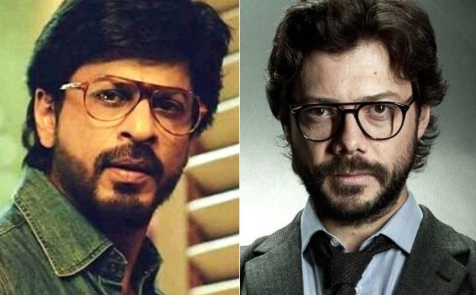 भारत में मनी हीस्ट - प्रोफेसर के रूप में शाहरुख खान, नैरोबी में प्रियंका चोपड़ा, रणबीर कपूर के रूप में ... अगर यह रीमेक बनता है, तो हम इन अभिनेताओं को इसमें देखना चाहते हैं! 1