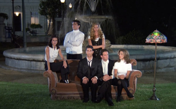 #ThrowbackThursday: THIS Was The First Scene Of FRIENDS & It Proved Why Matthew Perry's Chandler Will Be The KING Of Sarcasm