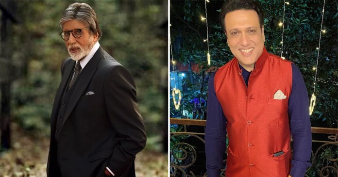 When Govinda Cancelled The Shoot When Amitabh Bachchan Threatened To Slap Him