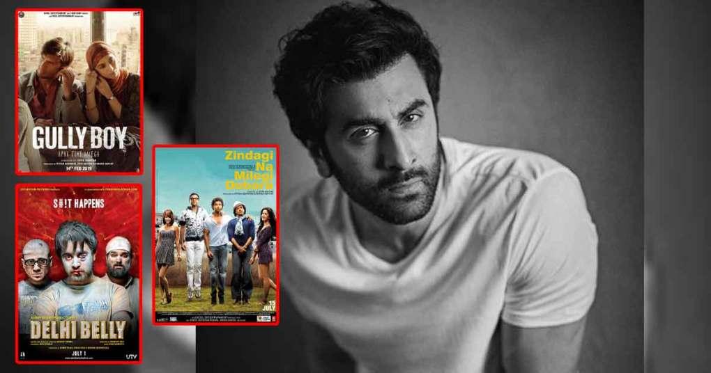 Zindagi Na Milegi Dobara, Gully Boy, Delhi Belly – Check Out The Movies Ranbir Kapoor Said No To