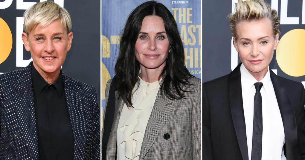 Ellen DeGeneres Is Staying With Courteney Cox; Denies Any Marital Trouble With Portia de Rossi