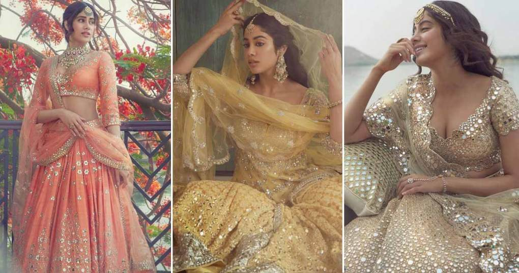 Jahnvi Kapoor Looks Etheral As Bride For A Recent Photoshoot, But It Will Cost You Lakhs To Have A Piece Of It In Your Wardrobe