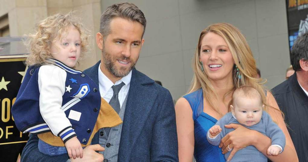 Ryan Reynolds & Blake Lively Take A Stroll With Daughter, Giving Fans A Look At Daughter Betty For The First Time