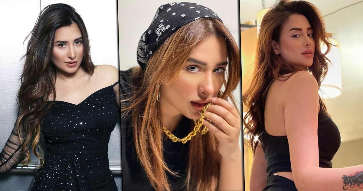 Mahira Sharma kills in black like nobody's business