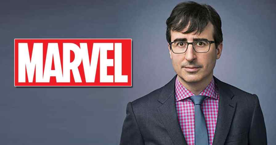 John Oliver jokes about the MCU movies that lack substance in the last episode of his talk show