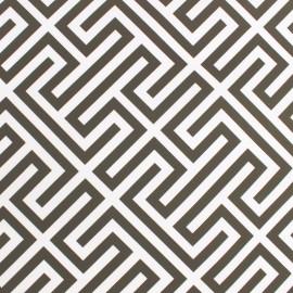 tissu toile transat paros taupe x 10cm