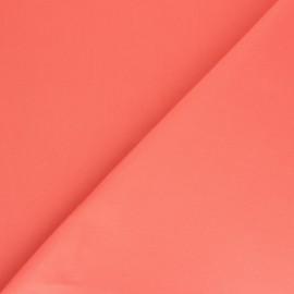 tissu toile plein air dralon 320cm corail x 10cm