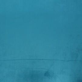 tissu velours brunei turquoise x 10cm