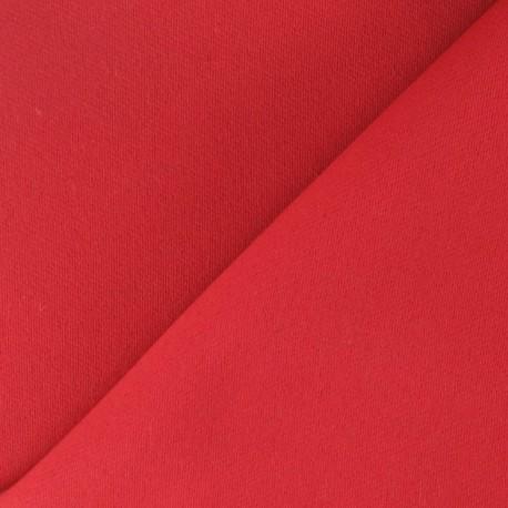 tissu occultant rouge x 10cm