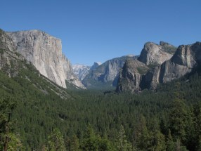El Capitan & Half Dome