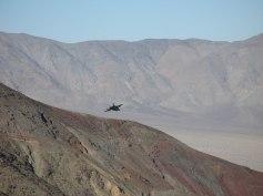 Kampfjet im Death Valley